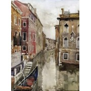 Brewster UMB91010 96-Inch by 72-Inch Venice Watercolor Wall Mural