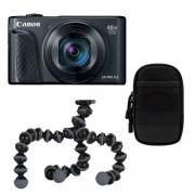 Canon Powershot SX740 HS compact camera Zwart Travel Kit