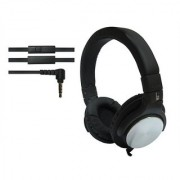 ha wired abs HWKC520 headphone Balck with Silver