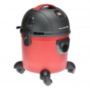 Aspirator cu aspirare umeda/uscata Hausberg HB-2095, 1200 W, 15 L, Rosu