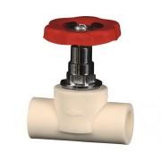 Robinet de trecere pentru apa 32 mm PPR alb