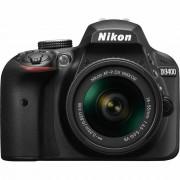 Nikon D3400 AF-P 18-55VR Black KIT DSLR digitalni fotoaparat i objektiv AF-P DX 18-55mm f/3.5-5.6G VR VBA490K001 VBA490K001