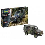 Revell Lkw gl leicht Wolf katonai jármű makett 1:35 3277