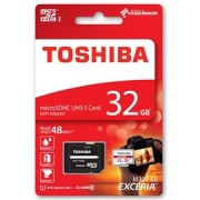 Card de memorie Toshiba Exceria Micro SDHC 32 GB UHS-I + Adaptor SD