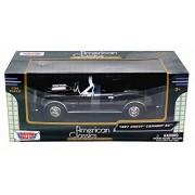 1967 Chevy Camaro SS, Burgundy - Motormax 73301 - 1/24 scale Diecast Model Toy Car