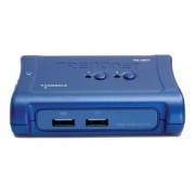 Trendnet Switch KVM USB TE100-S24D, 2 Puertos
