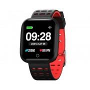 """Innjoo Reloj innjoo sport watch rojo cuadrado/ 1.33""""/ 512kb rom/ 64kb ram/ bluetooth 4.0"""