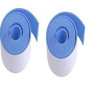 Kuhu Creations Premium Kid's Safety Furniture Marbel Wall Glass Edge Cushion Protector 2 meter Flat Tape/Bar/Strips