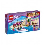 LEGO Friends Транспортьор за моторницата на Andrea 41316