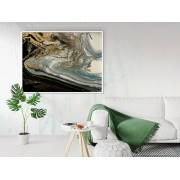 """Tablou canvas inramat """"abstract marble texture"""" - cod X02"""