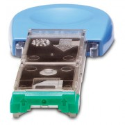 HP 1000-staples cartridge (LJ4200/4300 and LJ4250/4350) pack contains 3 easy-to-replace staple cartridges for the 500-sheet stapler/stacker (Q2443A and Q2443B)