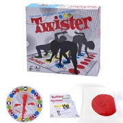 Naladoo Funny Classic Twister Games - Twister Floor Game - Twister Ultimate Game for Family and Party