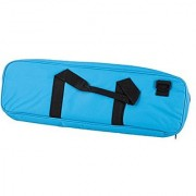 Deluxe Chess Bag - Neon Blue - by US Chess Federation