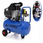 Compresor de Aer cu Ulei Tagred Mobil cu Separator, 24L, 4 CP, 8 Bar, 255 L/min