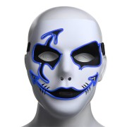 Halloween Mask LED Luminous Flashing Party Masks Light Up Dance Halloween Cosplay