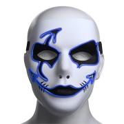 Halloween Mask LED Luminous Flashing Party Masks Light Up Dance Halloween Cosplay