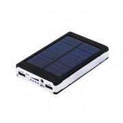 Внешний аккумулятор Power Bank 15000 mAh с солнечной батареей