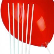 "Qualatex ""Qualatex 24in/60cm White Balloon Straws"""