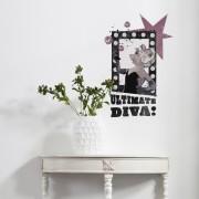 Sticker Miss Piggy - Ultimate Diva