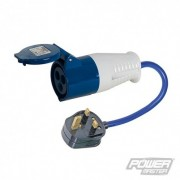 PowerMaster 13 A - 16 A Redukce - 13A Plug to 16A Socket 818738 5024763048272