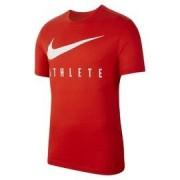 Nike M nk dry tee db athlete BQ7539-634 Červená S
