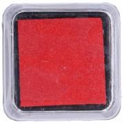 Dille&Kamille Encreà tampon, rouge, 5 x 5 cm