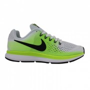 NIKE - obuv RUN ZOOM PEGASUS 34 (GS) RUNNIG SHOE white/green Velikost: 7Y