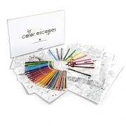 Crayola Color Escapes Adult Coloring Pages & Pencil Kit - Garden
