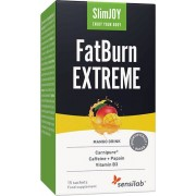 Sensilab SlimJOY FatBurn Extreme Kraftvolles Getränk zur Fettverbrennung mit thermogener Wirkung für ein schnelles Abnehmen 15-Tage Programm Sensilab