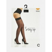 TIGHTS Stay-ups - Svart