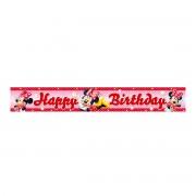 Banner Happy Birthday Disney Minnie Mouse - 4.65 m