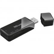 Vanjski čitač memorijskih kartica USB 2.0 Trust Nanga USB 2.0 Cardreader Crna