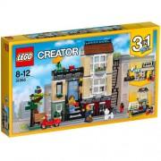 Set de constructie LEGO Creator Casa de pe Strada Parcului