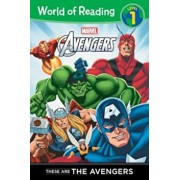 These Are the Avengers Level 1 Reader, Paperback/Thomas Macri