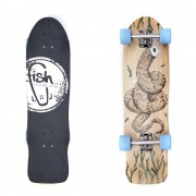 Longboard Fish Old School Cruiser Seadragon 32""