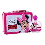 Disney Minnie Mouse confezione regalo eau de toilette 100 ml + valigetta per bambini