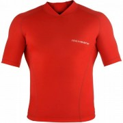 Rehband QD Compression Top SS Unisex - Unisex - Rood - Grootte: 2X-Large