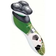 Aparat de tuns barba Remington XR1340F Hyperflex Footballer, 60 min (Alb/Verde)