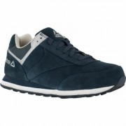 Reebok Work Men's Leelap Steel Toe Oxford Shoes - Navy (Blue), Size 9, Model RB1975