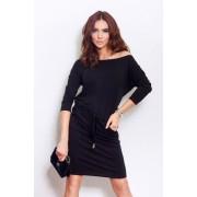 numoco Černé sportovní šaty model 4975102 XXL