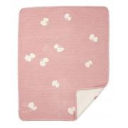 Klippan Yllefabrik Choucho bomullschenillefilt rosa, klippan yllefabrik