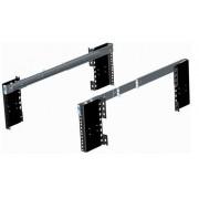 Coppia guide telescopiche 500 mm per chassis a rack