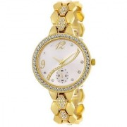 True Colors Gold color Round shaped professional and high quality Watch - For Women