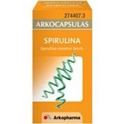 Arkocápsulas spirulina