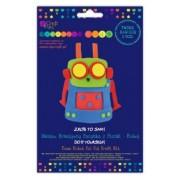 dpCraft Kreatívne penová bábka - robot, (KSPI-094)