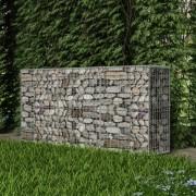 vidaXL Coș gabion din oțel, 200 x 50 x 100 cm