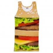 Mr. Gugu & Miss Go Hamburger Tank Top T Shirt TT025