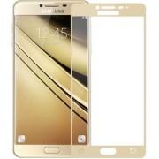 TechGear Edge To Edge Tempered Glass for Samsung Galaxy J7 (Gold)