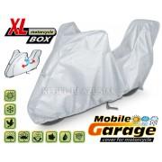Prelata, husa exterioara motocicleta + TopCase XL 240-265/135/107cm huse moto