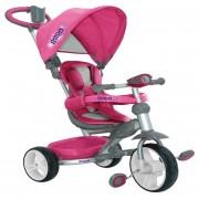 Triciclo Prinsel Astro Elite Musical Luz Arnes 2 En 1 Rosa